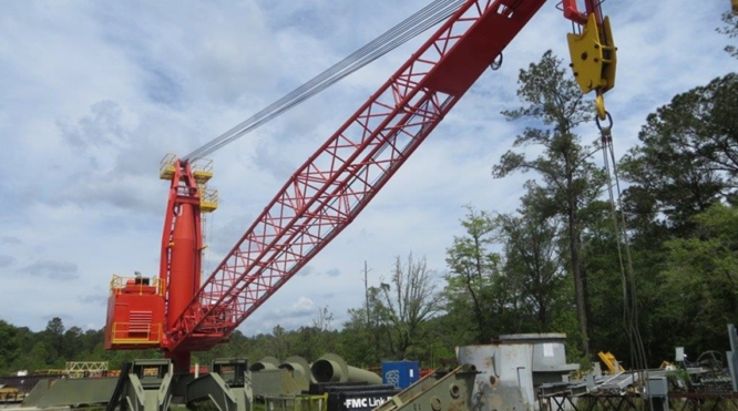 42 TON KINGPOST CRANE FOR SALE – THREE (3) UNITS AVAILABLE – CRANES NEVER USED