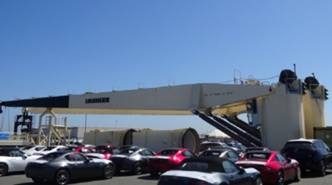 40 TON @ 38M LIEBHERR DECK CRANES FOR SALE – VERY GOOD CONDITION – Y.O.M. 2012 – TWO UNITS AVAILABLE